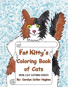 Fat Kitty's Coloring Book of Cats by Carolyn Cutler Hughes