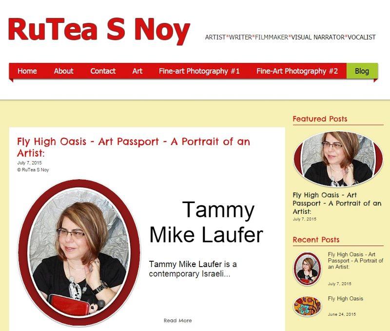 RuTea S Noy art blog