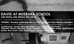 David at Musrara school