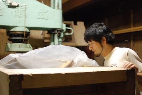 sake making