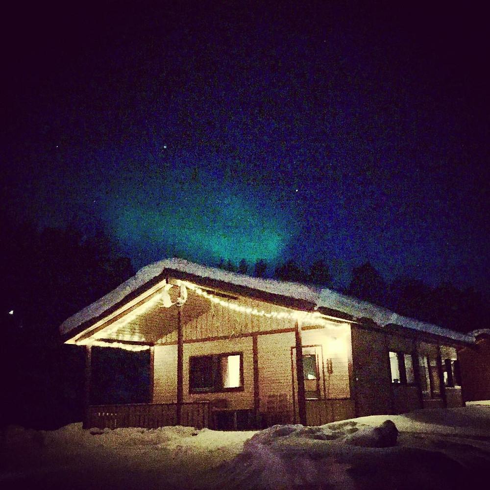 Our cabin in Karasjohka