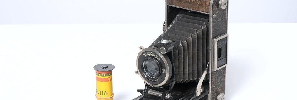 フォクトレンダー イーノスⅡ (1933年製、6×9)