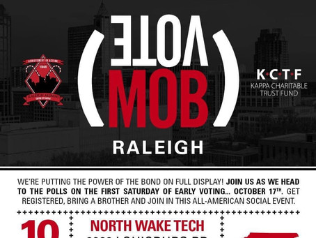 Raleigh Alumni hosts VoteMob in the triangle