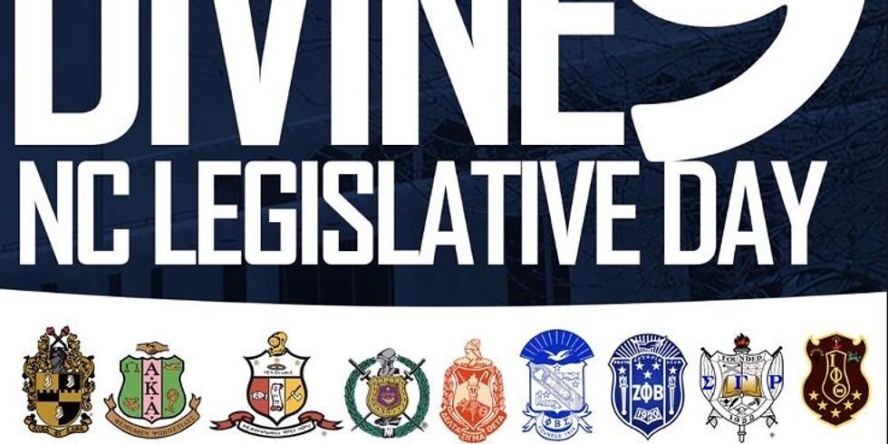 Divine9 Legislative Day