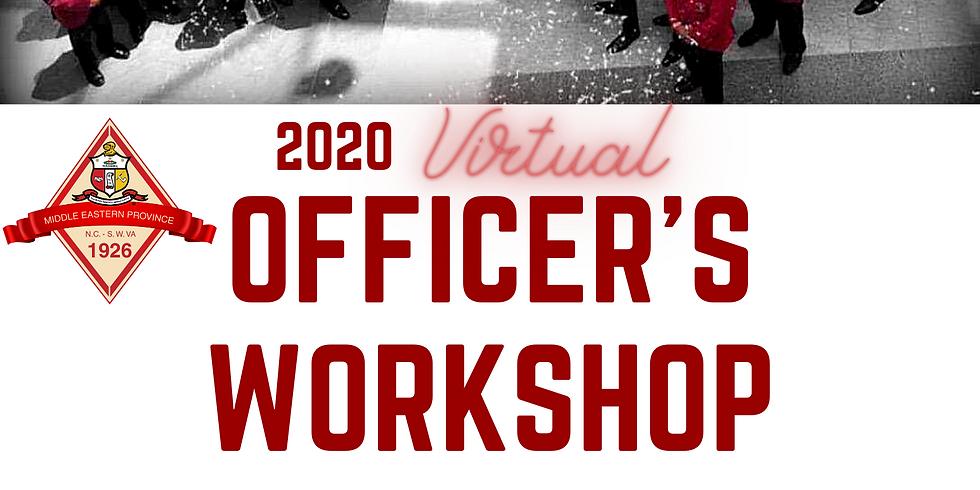 2020 Officer's Training Day 1(Province Board Meeting, Advisors Workshop, UG Retreat)