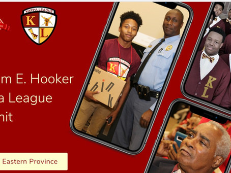 A Successful William E. Hooker Kappa League Summit