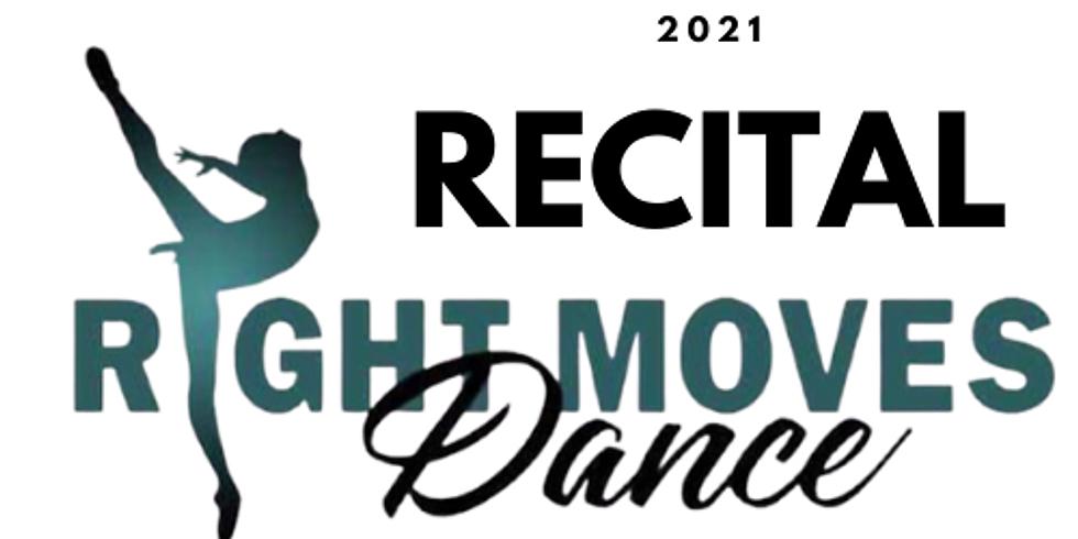 2021 Dance Recital - Virtual Ticket