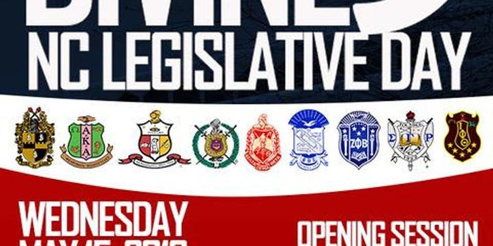 North Carolina Divine 9 Legislative Day