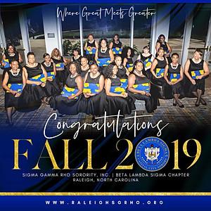 BLS Fall 2019 Reception