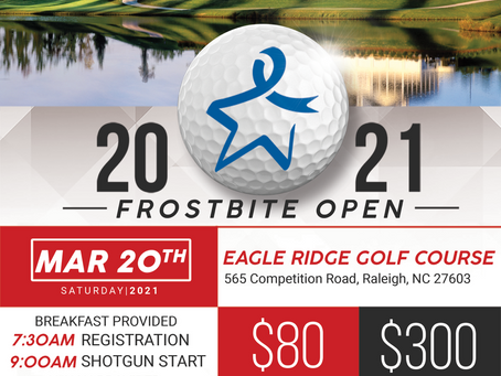 Frostbite Open hosted by Raleigh Alumni and the Kappa Charitable Trust Fund, Inc.