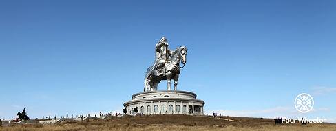 Chinggis Khan Statue - Tsonjin Boldog