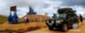 Land Cruiser at Ovoo (Овоо)
