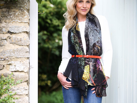 How to choose the right silk scarf for you