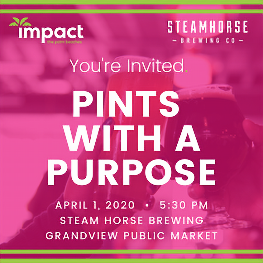 Pints with a Purpose!  POSTPONED