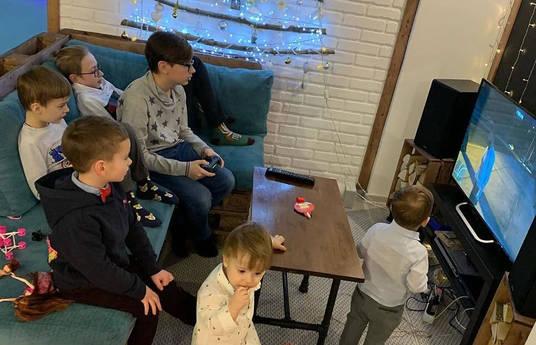 День рождения детей в VR Home