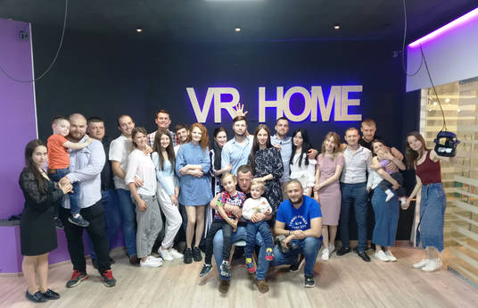 День рождения в VR Home