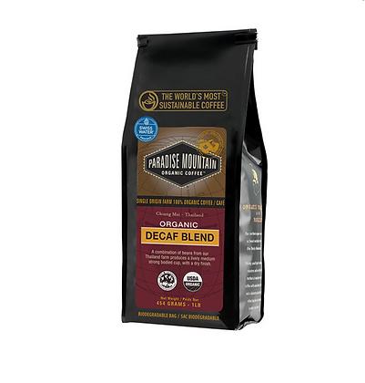 Decaf Blend Pardise Mountain Coffee - Organic