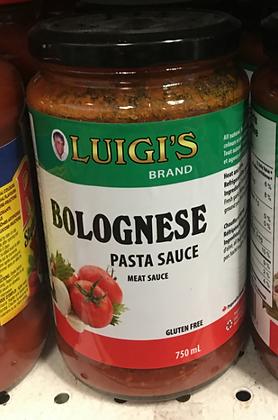 Luigi's Bolognese Pasta Sauce - Meat Sauce