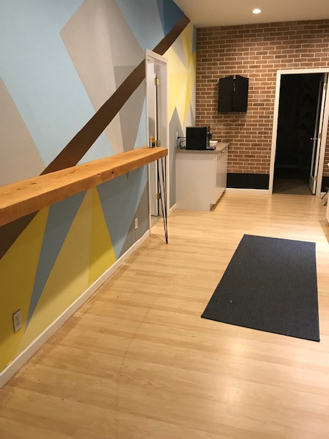 Hallway between common areas