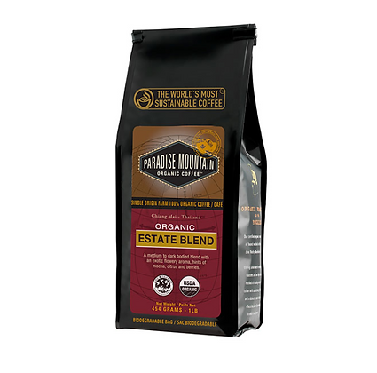 Estate Blend Pardise Mountain Coffee - Organic