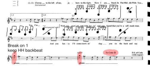 Transcribing Drums