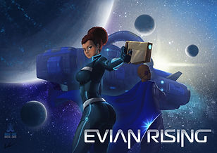 Evian Rising Chapter 1 Cover picture