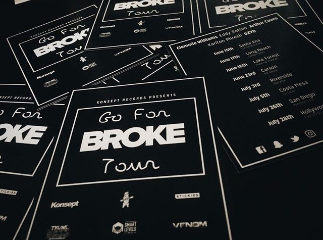 Go For Broke Tour