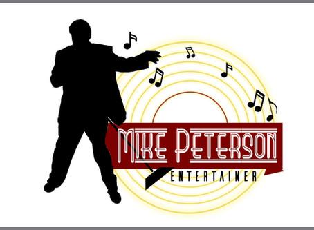 Mike Peterson Entertainer Logo Design