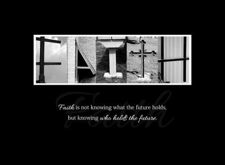 """""""Faith"""" Letter Art"""