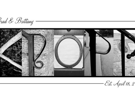 """""""Kropp"""" Letter Art"""