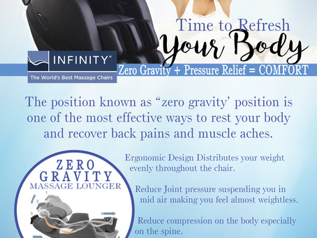 The Day Spa Zero Gravity Inhouse Advertising