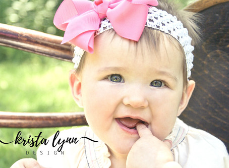 Adalynn Children's Session (8 Months)