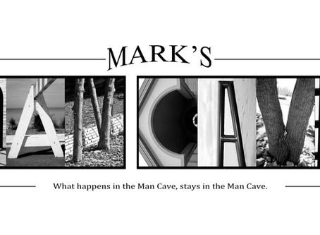 """""""Mark's Man Cave"""" Letter Art"""