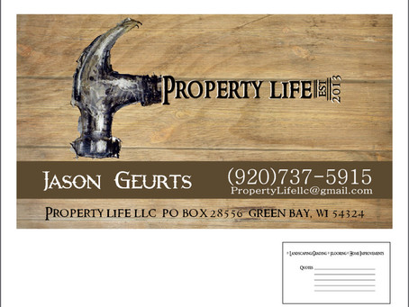 Property Life Business Card Design