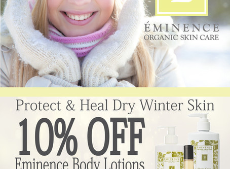 The Day Spa Eminence Product Inhouse Advertising