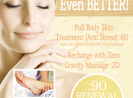 The Day Spa Renewal Inhouse Advertising