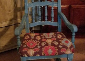 Distressed Tidal Pond Chair