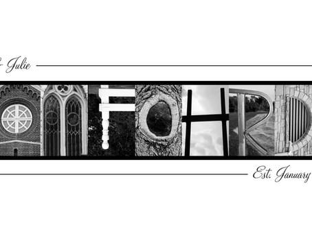 """""""Tomfohrde"""" Letter Art"""