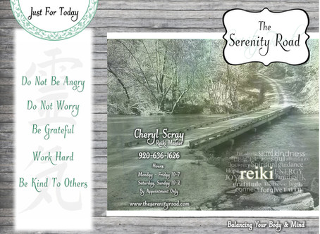 The Serenity Road Brochure Design