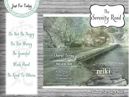 The Serenity Road Brochure Design