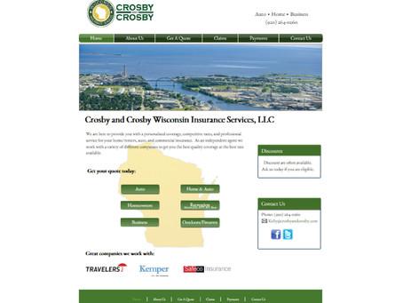 Crosby & Crosby Wisconsin Website Design