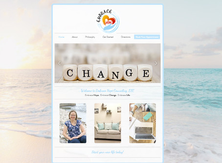 Embrace Hope Counseling Website Design