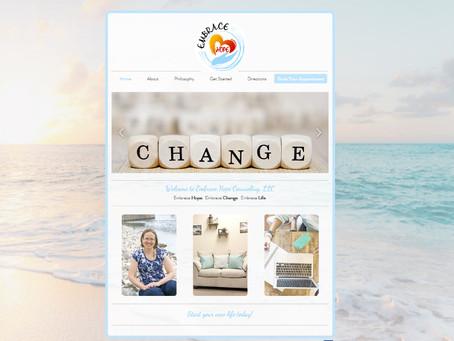 Embrace Hope Counseling Website Design