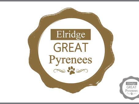 Elridge Pyrenees Logo Design
