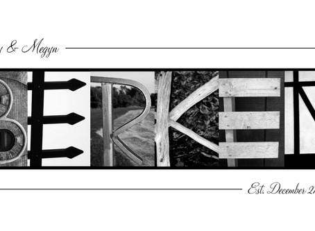 """""""Berken"""" Letter Art"""