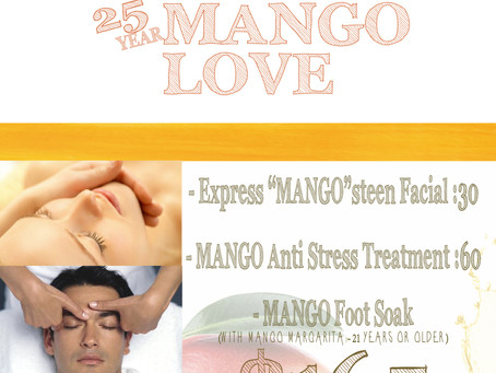 The Day Spa Mango Love Inhouse Advertising
