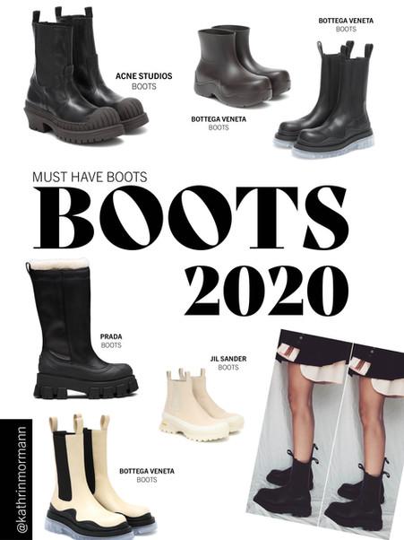 MUST HAVE PIECES BOOTS 2020 / KOLLEKTIF STUDIO
