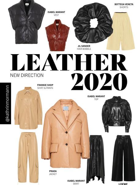 MUST HAVE PIECES LEATHER 2020 / KOLLEKTIF STUDIO