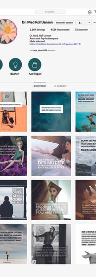 Konzepterstellung für Instagram