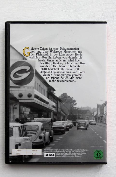 """DVD Artwork Cover für den Film """"Goldene Zeiten Walsrode schaut zurück"""" (Rückseite)"""